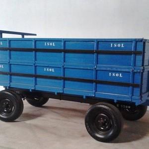Carreta agrícola 4 rodas
